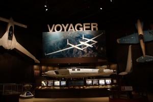 Cockpittet fra flyet Voyager