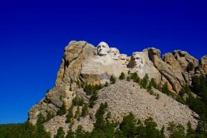 De 4 præsidenter hugget ud af granit