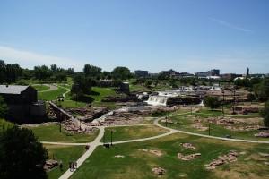 Falls Park i Sioux Falls