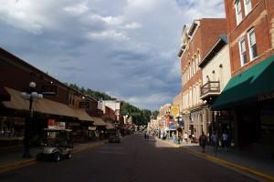 Hovedgaden i Deadwood