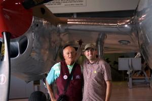 Jim som gav mig en guided tur på museet