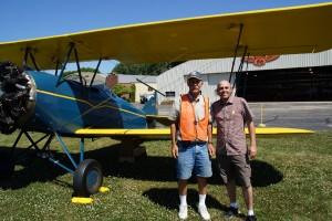 Min pilot og jeg