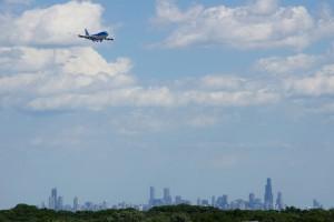 Et sidste blik på Chicago's skyline