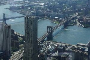 Brooklyn Bridge fra One World