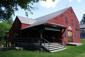 Fronten af Weston Mill Museum