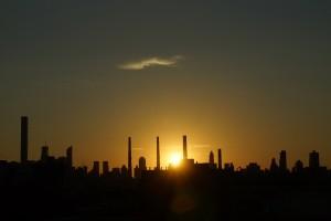 Sunset over Manhattan 2