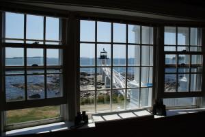Udsigten fra Marshall Point Lighthouse