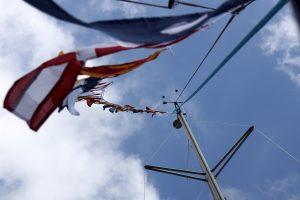 Der flages inden afsejling