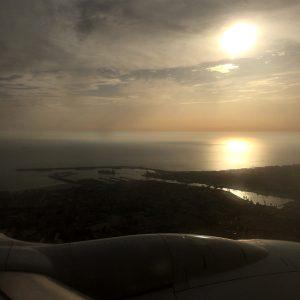 Indflyvning til Porto
