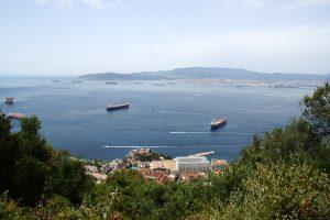 Indsejlingen til Gibraltar