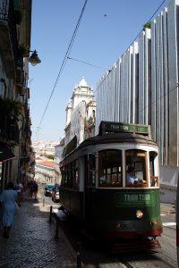 Lissabons kendte sporvogne