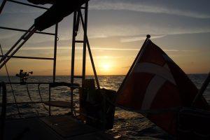 Solnedgang over Atlanten