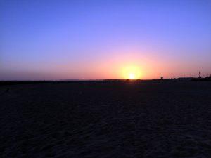 Solnedgang over Vilamoura