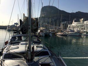 Afsejling fra Gibraltar