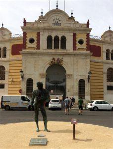 Indgangen til Plaza De Toros