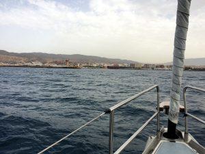 Indsejlingen til Almería