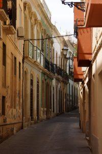 Smalle gader i Almería