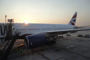 777'eren til London