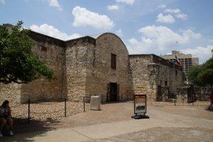 Bagsiden af The Alamo