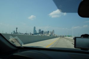 Dallas centrum i sigte