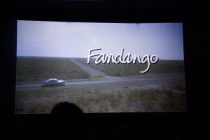 Fandango på den store skærm