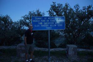 I 2000 meters højde
