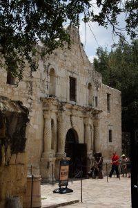 Indgangen til The Alamo