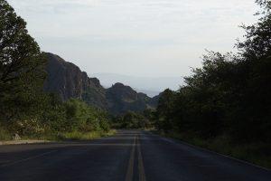 Nedkørslen fra The Chisos Basin