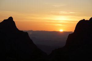 Solnedgang i Big Bend 3