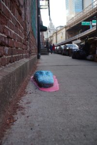 Den blå krokodille på Dover St