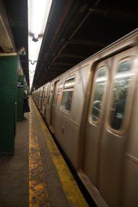 På vej med Subway'en
