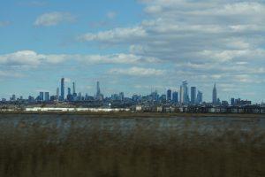 Udsigten fra The New Jersey Turnpike